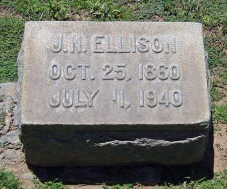 ELLISON, JOHN NAPOLEON - Maricopa County, Arizona | JOHN NAPOLEON ELLISON - Arizona Gravestone Photos