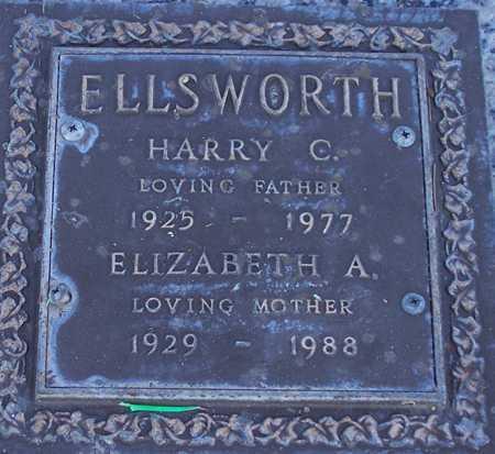 ELLSWORTH, ELIZABETH A. - Maricopa County, Arizona | ELIZABETH A. ELLSWORTH - Arizona Gravestone Photos