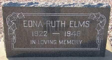 ELMS, EDNA RUTH - Maricopa County, Arizona   EDNA RUTH ELMS - Arizona Gravestone Photos