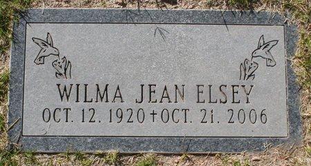 CLARK ELSEY, WILMA JEAN - Maricopa County, Arizona | WILMA JEAN CLARK ELSEY - Arizona Gravestone Photos