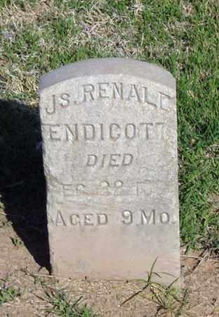 ENDICOTT, JAMES RENALD - Maricopa County, Arizona | JAMES RENALD ENDICOTT - Arizona Gravestone Photos