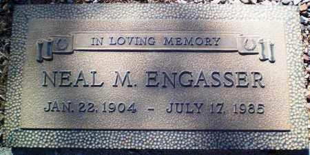 ENGASSER, NEAL M. - Maricopa County, Arizona | NEAL M. ENGASSER - Arizona Gravestone Photos