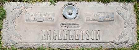 ENGEBRETSON, ARTHUR E - Maricopa County, Arizona | ARTHUR E ENGEBRETSON - Arizona Gravestone Photos