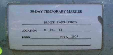ENGELHARDT, BROOKE - Maricopa County, Arizona | BROOKE ENGELHARDT - Arizona Gravestone Photos