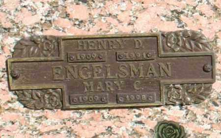 ENGELSMAN, MARY C - Maricopa County, Arizona | MARY C ENGELSMAN - Arizona Gravestone Photos