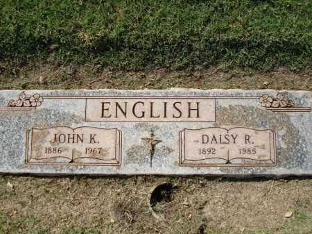 ENGLISH, DAISY DEAN - Maricopa County, Arizona | DAISY DEAN ENGLISH - Arizona Gravestone Photos