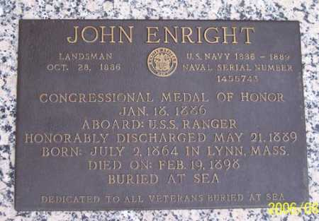 ENRIGHT, JOHN - Maricopa County, Arizona | JOHN ENRIGHT - Arizona Gravestone Photos