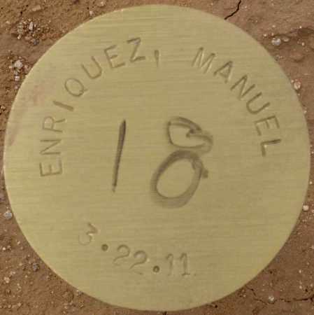 ENRIQUEZ, MANUEL - Maricopa County, Arizona | MANUEL ENRIQUEZ - Arizona Gravestone Photos