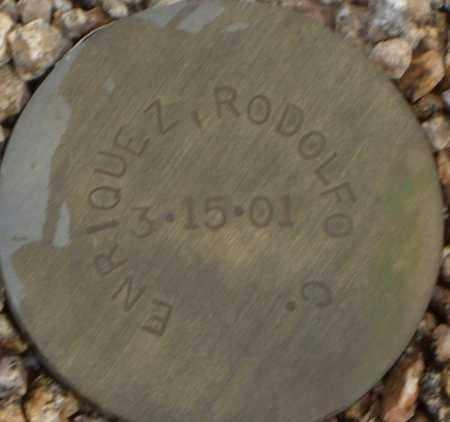 ENRIQUEZ, RODOLFO C. - Maricopa County, Arizona | RODOLFO C. ENRIQUEZ - Arizona Gravestone Photos