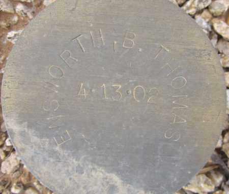 ENSWORTH, B. THOMAS - Maricopa County, Arizona   B. THOMAS ENSWORTH - Arizona Gravestone Photos