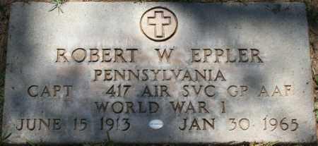 EPPLER, ROBERT W. - Maricopa County, Arizona | ROBERT W. EPPLER - Arizona Gravestone Photos