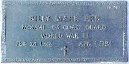 ERB, BILLY MARK - Maricopa County, Arizona | BILLY MARK ERB - Arizona Gravestone Photos