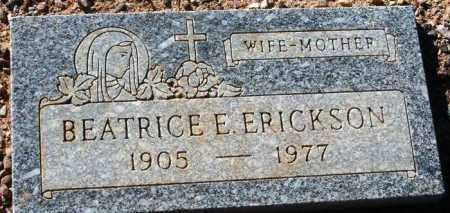 ERICKSON, BEATRICE E. - Maricopa County, Arizona   BEATRICE E. ERICKSON - Arizona Gravestone Photos