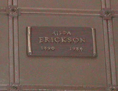 LARSON ERICKSON, HILDA - Maricopa County, Arizona | HILDA LARSON ERICKSON - Arizona Gravestone Photos