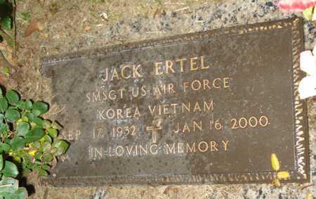ERTEL, JACK - Maricopa County, Arizona | JACK ERTEL - Arizona Gravestone Photos