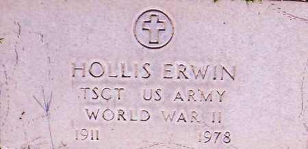 ERWIN, HOLLIS - Maricopa County, Arizona   HOLLIS ERWIN - Arizona Gravestone Photos
