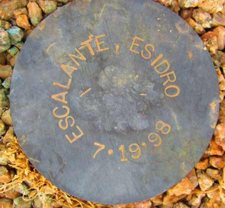 ESCALANTE, ESIDRO - Maricopa County, Arizona | ESIDRO ESCALANTE - Arizona Gravestone Photos