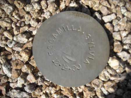 ESCAMILLA, SYLVIA - Maricopa County, Arizona | SYLVIA ESCAMILLA - Arizona Gravestone Photos