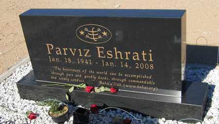 ESHRATI, PARVIZ - Maricopa County, Arizona | PARVIZ ESHRATI - Arizona Gravestone Photos