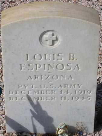 ESPINOSA, LOUIS B. - Maricopa County, Arizona | LOUIS B. ESPINOSA - Arizona Gravestone Photos