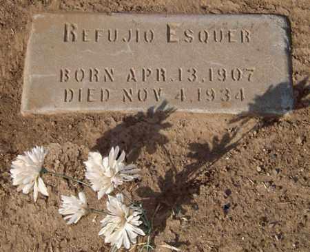 ESQUER, REFUJIO - Maricopa County, Arizona | REFUJIO ESQUER - Arizona Gravestone Photos