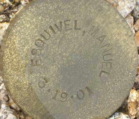 ESQUIVEL, MANUEL - Maricopa County, Arizona | MANUEL ESQUIVEL - Arizona Gravestone Photos