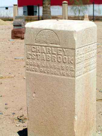 ESTABROOK, CHARLIE - Maricopa County, Arizona | CHARLIE ESTABROOK - Arizona Gravestone Photos