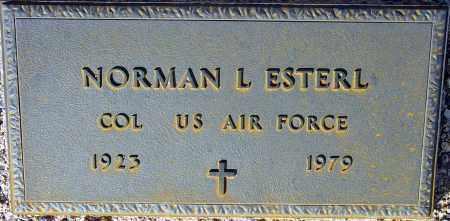 ESTERL, NORMAN L. - Maricopa County, Arizona | NORMAN L. ESTERL - Arizona Gravestone Photos