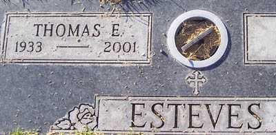ESTEVES, THOMAS E. - Maricopa County, Arizona | THOMAS E. ESTEVES - Arizona Gravestone Photos