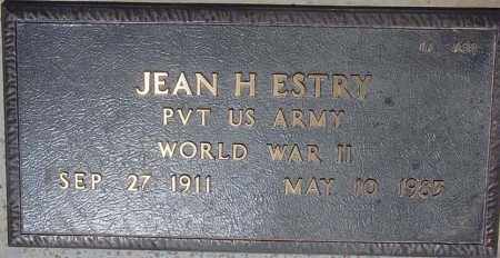 ESTRY, JEAN H. - Maricopa County, Arizona | JEAN H. ESTRY - Arizona Gravestone Photos