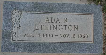 ETHINGTON, ADA RELIEF - Maricopa County, Arizona | ADA RELIEF ETHINGTON - Arizona Gravestone Photos