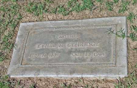 ETHRIDGE, ETHEL MAUD - Maricopa County, Arizona | ETHEL MAUD ETHRIDGE - Arizona Gravestone Photos