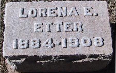 ELLISON ETTER, LORENA E. - Maricopa County, Arizona | LORENA E. ELLISON ETTER - Arizona Gravestone Photos