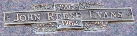 EVANS, JOHN REESE - Maricopa County, Arizona | JOHN REESE EVANS - Arizona Gravestone Photos