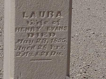 EVANS, LAURA K - Maricopa County, Arizona | LAURA K EVANS - Arizona Gravestone Photos