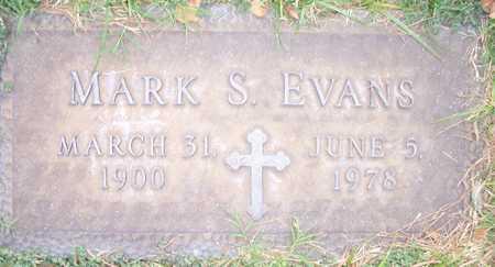 EVANS, MARK S. - Maricopa County, Arizona | MARK S. EVANS - Arizona Gravestone Photos