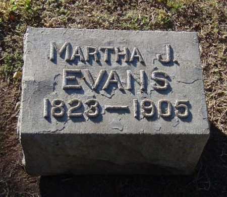 EVANS, MARTHA JANE - Maricopa County, Arizona | MARTHA JANE EVANS - Arizona Gravestone Photos