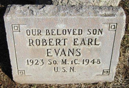 EVANS, ROBERT EARL - Maricopa County, Arizona | ROBERT EARL EVANS - Arizona Gravestone Photos
