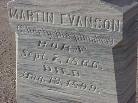 EVANSON, MARTIN - Maricopa County, Arizona   MARTIN EVANSON - Arizona Gravestone Photos