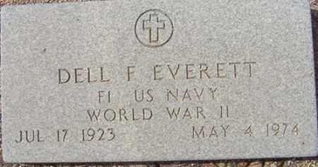 EVERETT, DELL FRANK - Maricopa County, Arizona | DELL FRANK EVERETT - Arizona Gravestone Photos