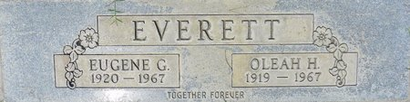 EVERETT, EUGENE G - Maricopa County, Arizona   EUGENE G EVERETT - Arizona Gravestone Photos