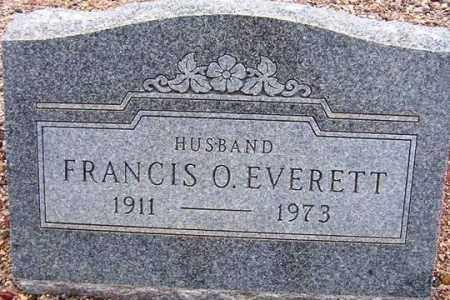 EVERETT, FRANCIS O. - Maricopa County, Arizona   FRANCIS O. EVERETT - Arizona Gravestone Photos