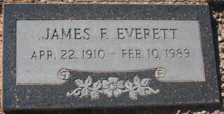 EVERETT, JAMES F. - Maricopa County, Arizona | JAMES F. EVERETT - Arizona Gravestone Photos