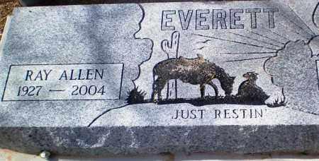 EVERETT, RAY ALLEN - Maricopa County, Arizona | RAY ALLEN EVERETT - Arizona Gravestone Photos