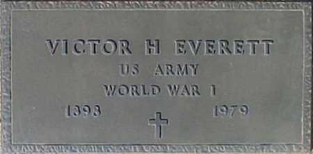 EVERETT, VICTOR H. - Maricopa County, Arizona | VICTOR H. EVERETT - Arizona Gravestone Photos