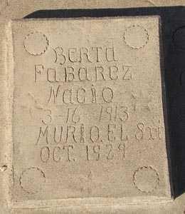 FABAREZ, BERTA - Maricopa County, Arizona | BERTA FABAREZ - Arizona Gravestone Photos