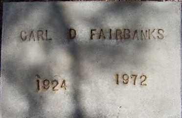 FAIRBANKS, CARL D. - Maricopa County, Arizona | CARL D. FAIRBANKS - Arizona Gravestone Photos