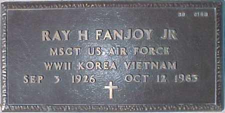 FANJOY, RAY H., JR. - Maricopa County, Arizona | RAY H., JR. FANJOY - Arizona Gravestone Photos
