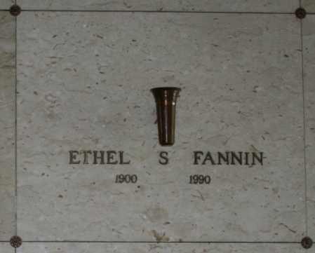 FANNIN, ETHEL S - Maricopa County, Arizona | ETHEL S FANNIN - Arizona Gravestone Photos