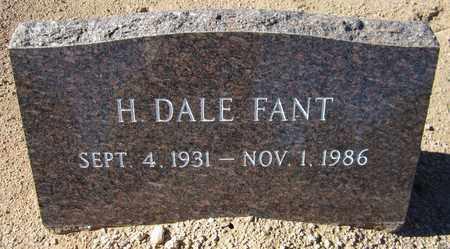FANT, H. DALE - Maricopa County, Arizona | H. DALE FANT - Arizona Gravestone Photos